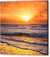 Sunrise Gulf Shores Alabama Beach Acrylic Print