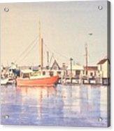 Sunrise Harbor Acrylic Print