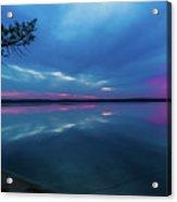 Sunrise Higgins Lake Acrylic Print