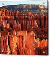 Sunrise Hoodoos In Bryce Canyon Acrylic Print