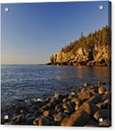 Sunrise In Acadia Acrylic Print