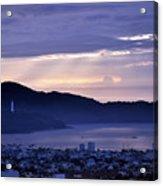 Sunrise In Da Nang 2 Acrylic Print