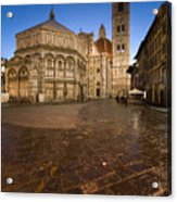 Sunrise In Florence 2 Acrylic Print