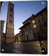 Sunrise In Florence 3 Acrylic Print