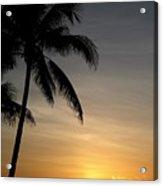 Sunrise In Florida / D Acrylic Print