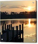 Sunrise In Grayton Beach II Acrylic Print