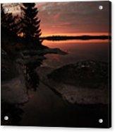 Sunrise In Pyynikki Acrylic Print