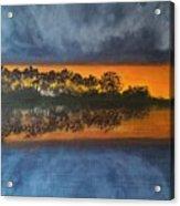 Sunrise In The Amazonas Acrylic Print