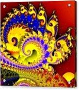 Sunrise In The Carnival Universe Acrylic Print