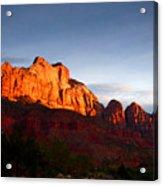 Sunrise In Utah Acrylic Print