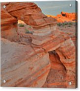 Sunrise In Valley Of Fire State Park Acrylic Print