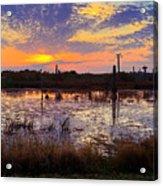 Sunrise In Viera Acrylic Print