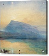 Sunrise Acrylic Print by Joseph Mallord William Turner