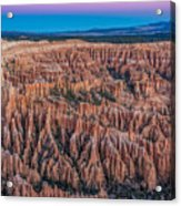 Sunrise Light On Bryce Canyon Acrylic Print