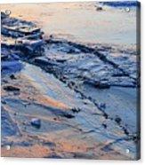 Sunrise Light On The Ice  Acrylic Print