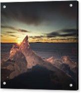 Sunrise March 24 740 Am Sturgeon Bay Acrylic Print