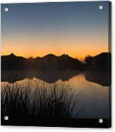 Sunrise Acrylic Print by Michael Tesar