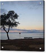Sunrise, Moonfall Acrylic Print
