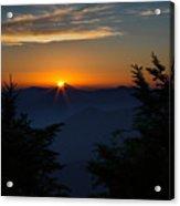 Sunrise Myrtle Point Acrylic Print