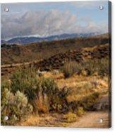 Sunrise Near Boise, Idaho Acrylic Print