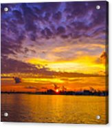 Sunrise, New Orleans Acrylic Print