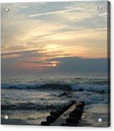 Sunrise Ocean 50 Acrylic Print