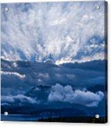 Sunrise On Lake Annecy Acrylic Print
