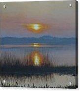 Sunrise On Lake Hollingsworth Acrylic Print