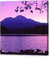 Sunrise On Lake Shasta Acrylic Print