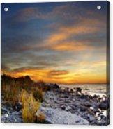 Sunrise On Mackinac Island Acrylic Print