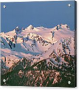 1m4120-sunrise On Mt. Olympus  Acrylic Print