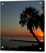 Sunrise On Pleasure Island Acrylic Print