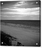 Sunrise On Santa Rosa Beach Acrylic Print