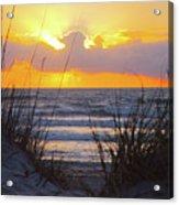 Sunrise On The Atlantic Acrylic Print