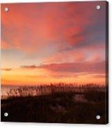 Sunrise On The Atlantic Ocean Acrylic Print