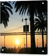 Sunrise On The Bay Acrylic Print