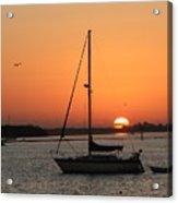 Sunrise On The Bay Acrylic Print