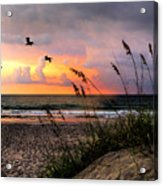Sunrise On The Beach 02 Acrylic Print