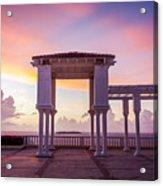 Sunrise On The Caribbean Acrylic Print