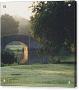 Sunrise On The Golf Course Acrylic Print