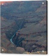 Sunrise On The Grand Canyon Acrylic Print