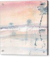 Sunrise On The Lagoon Ccxv Acrylic Print