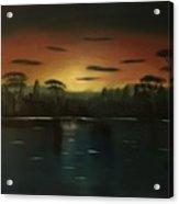 Sunrise On The Nile  Acrylic Print