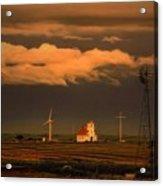 Sunrise On The Prairie Acrylic Print