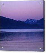 Sunrise On The Prince William Sound Acrylic Print
