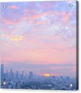 Sunrise Over Bangkok Acrylic Print