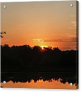 Sunrise Over E Bay Acrylic Print