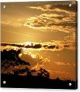 Sunrise Over Fort Salonga4 Acrylic Print