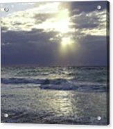 Sunrise Over Gulf Of Mexico Acrylic Print