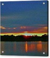 Sunrise Over Ile-bizard - Quebec Acrylic Print